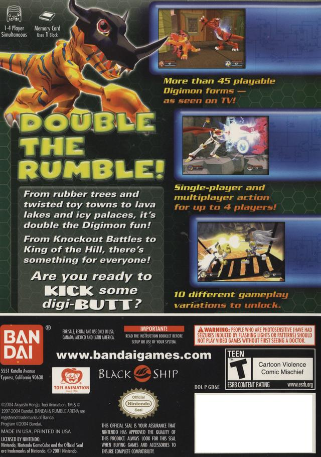 download digimon rumble arena iso