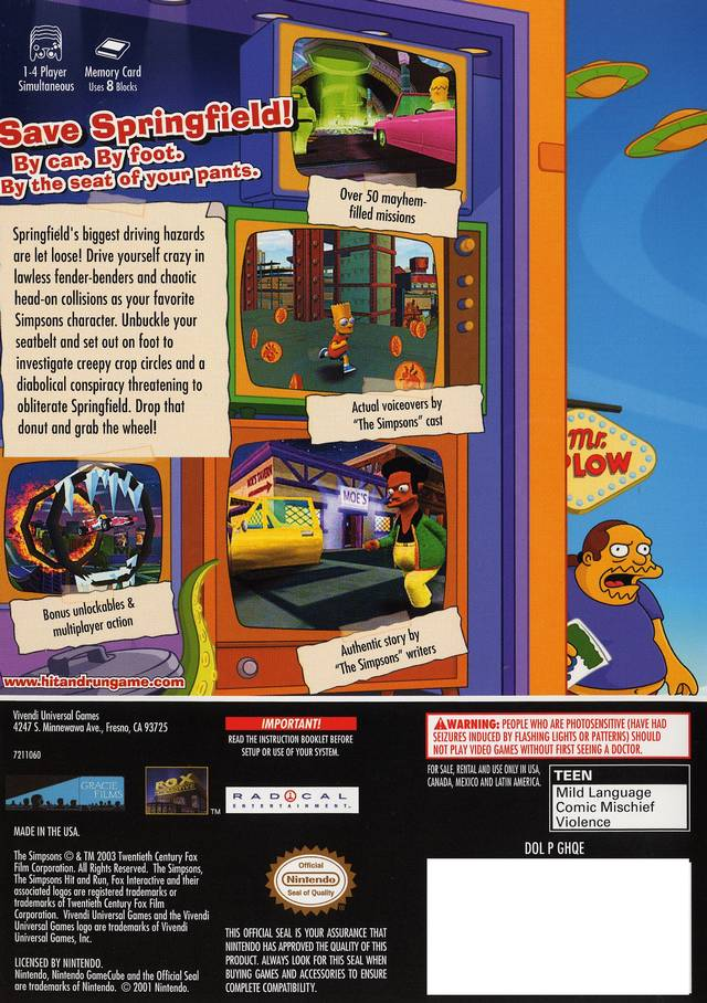 the simpsons hit & run ps2 iso download
