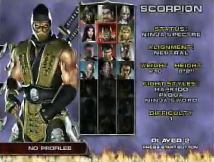 Mortal Kombat Deadly Alliance (U)(OneUp) ROM / ISO Download