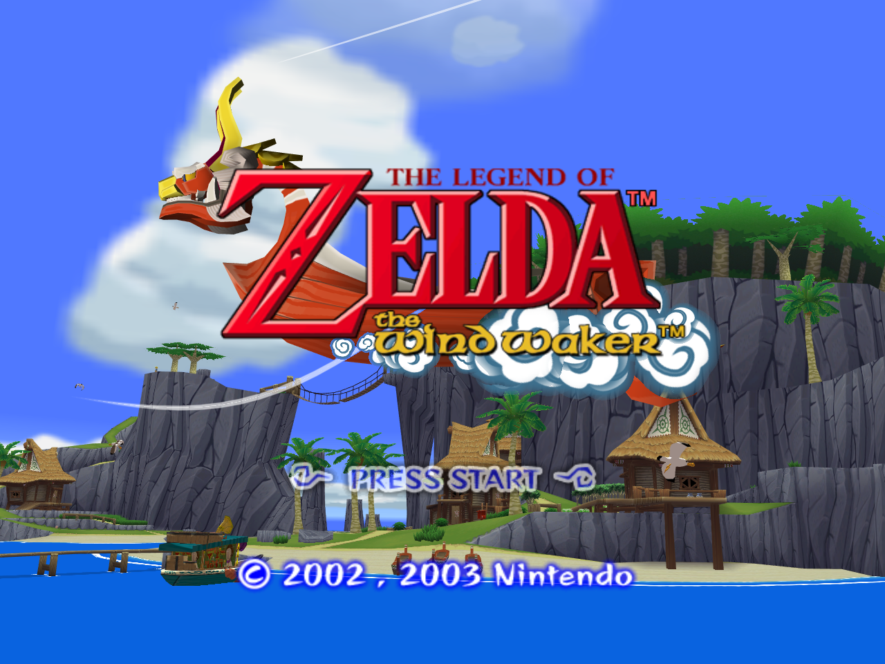 Legend of Zelda, The - Wind Waker (U)(STARCUBE) ROM / ISO Download for ...