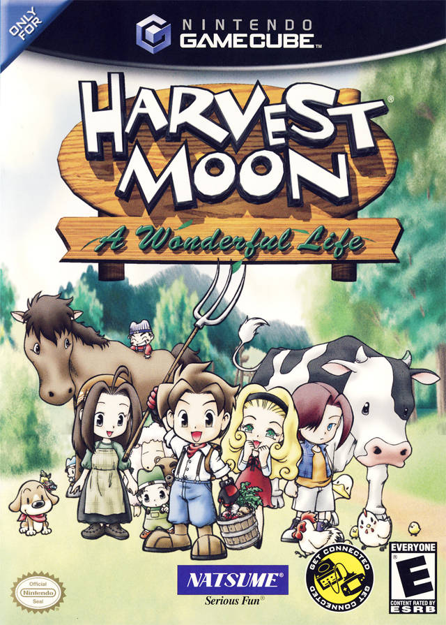 gamecube harvest moon coloring pages - photo #2