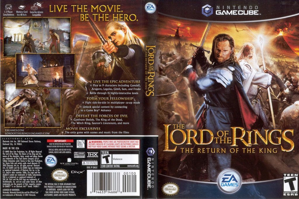 Lord Of The Rings Return Of The King Gba Rom