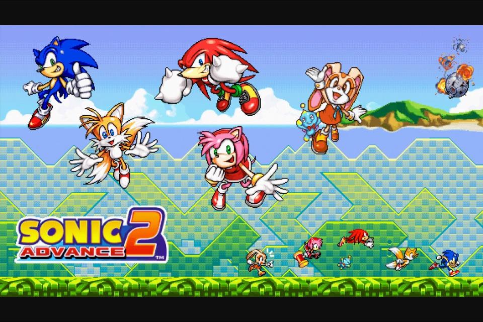 Sonic Advance 2 (USA) (En,Ja,Fr,De,Es,It) ROM Download for Gameboy