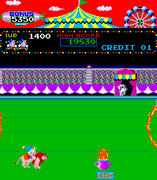 Play and download circus charlie nes game rom to pc, android.