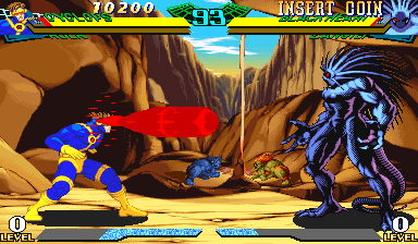 Marvel Super Heroes Vs  Street Fighter (Euro 970625) ROM Download