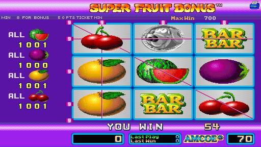 super fruit bonus