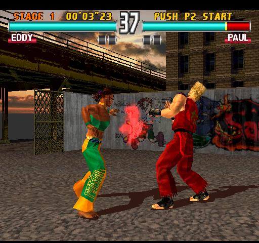 Tekken 3 PSP скачать торрент