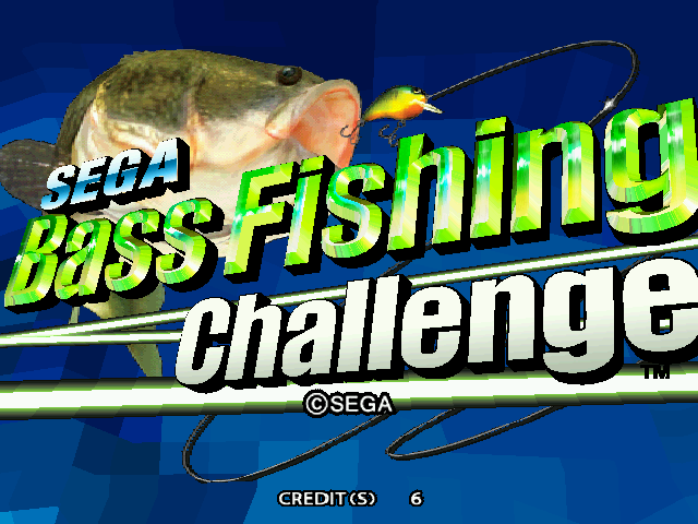 sega bass fishing challenge rom download for mame rom