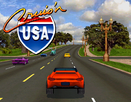 Cruis'n USA (rev L4 1) ROM Download for MAME - Rom Hustler