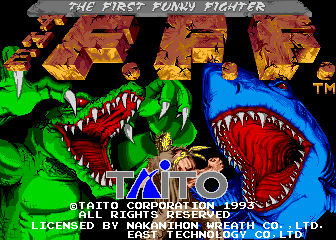 The First Funky Fighter (set 1) ROM Download for MAME - Rom Hustler