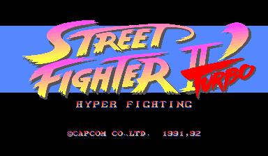 Street Fighter II Turbo Hyper Fighting