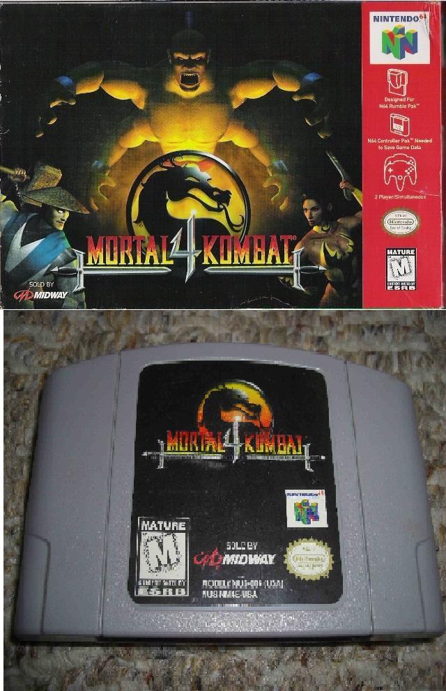 n64 mortal kombat 4 cool rom