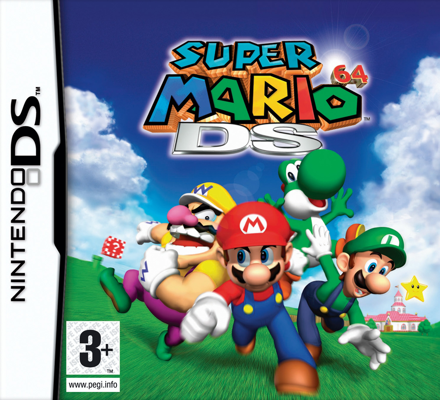 Super Mario 64 Ds Eu M5 Rom Download For Nintendo Ds Nds Rom Hustler