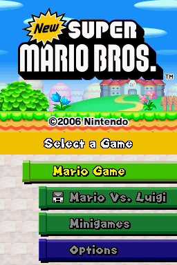 New Super Mario Bros  (US) ROM Download for Nintendo DS (NDS) - Rom