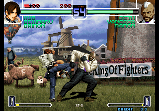 the king of fighters 2002 ultimate match rom