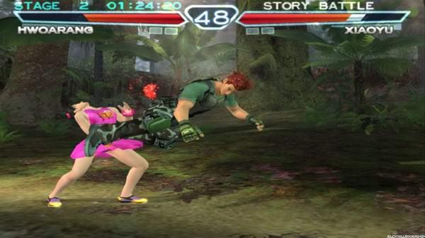 Tekken 4 [pcsx2 emulation] youtube.