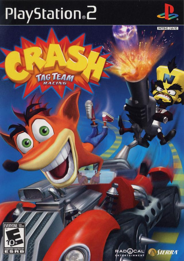 Crash Tag Team Racing (USA) ROM / ISO Download for