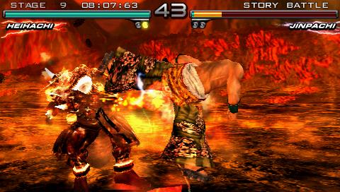 Tekken Dark Resurrection U Artisan Rom Iso Download For Psp