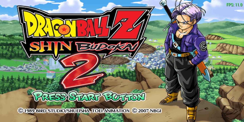 Dragon Ball Z - Shin Budokai 2 (E)(M5)(OE) ROM / ISO Download for PSP - Rom  Hustler