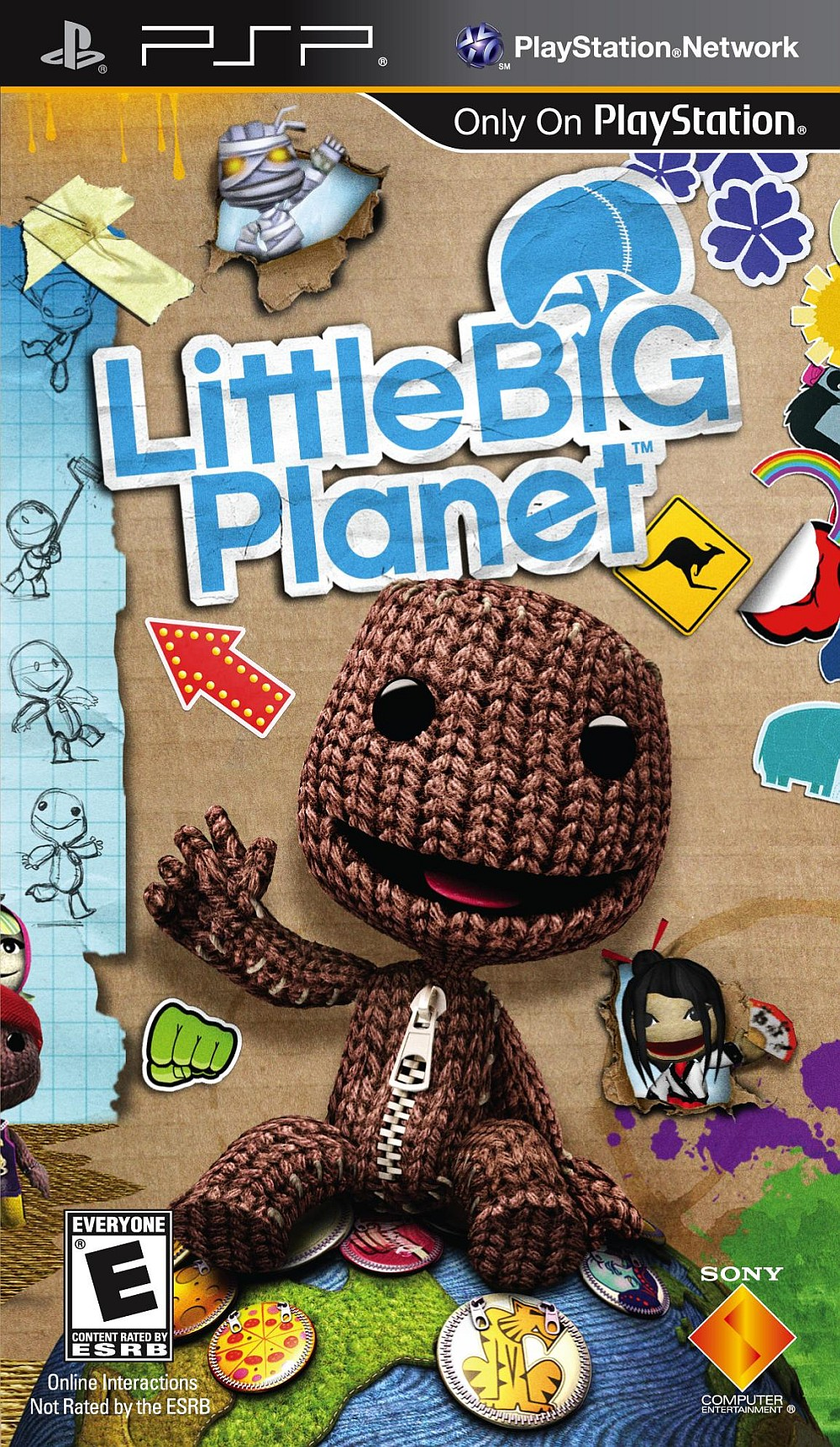 Little big planet psp hd wallpaper, background images.