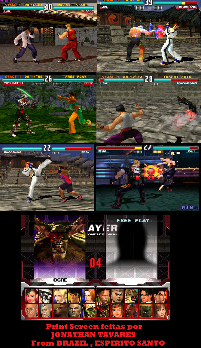 Tekken 3 U Slus 00402 Rom Iso Download For Playstation Psx Rom Hustler