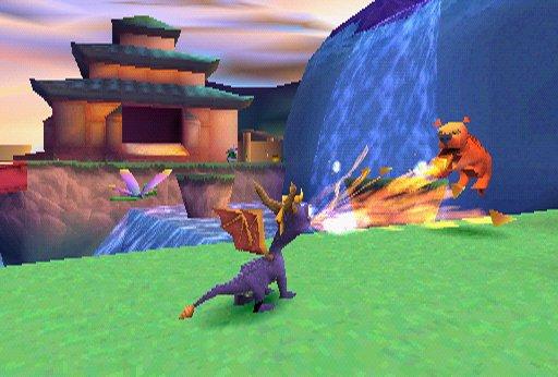 spyro the dragon psp