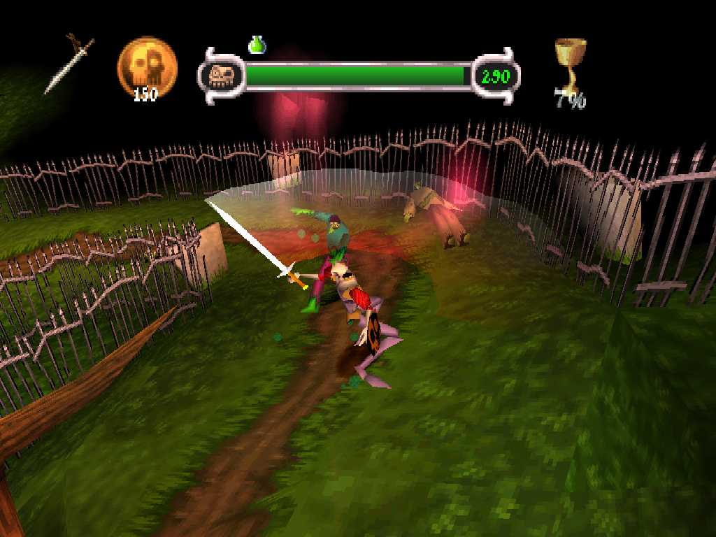 Medievil [SCUS-94227] ROM / ISO Download for PlayStation (PSX) - Rom