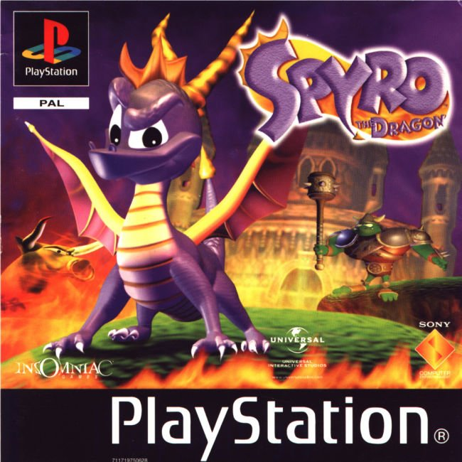 Spyro the Dragon [U] [SCUS-94228] ROM / ISO Download for PlayStation