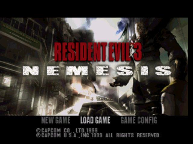 Descargar rom resident evil 3 nemesis rom