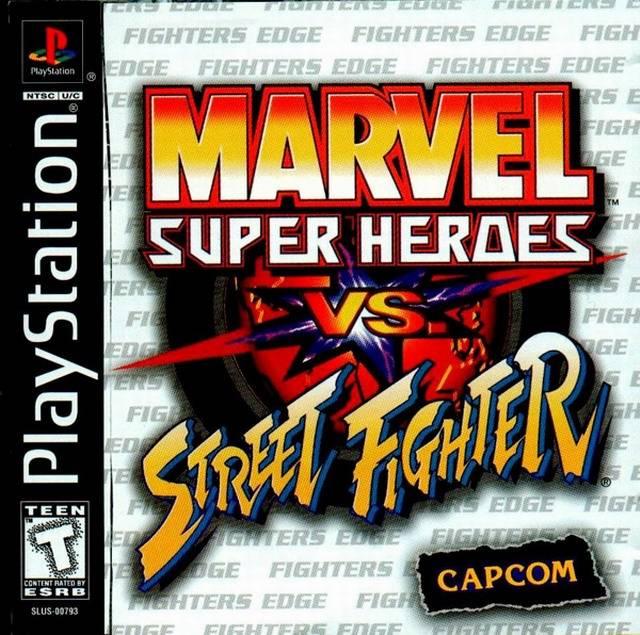 x-men vs street fighter psx iso