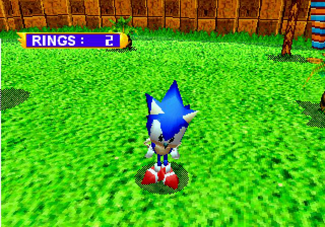 Sonic Jam (U)(Saturn) ROM / ISO Download for Sega Saturn