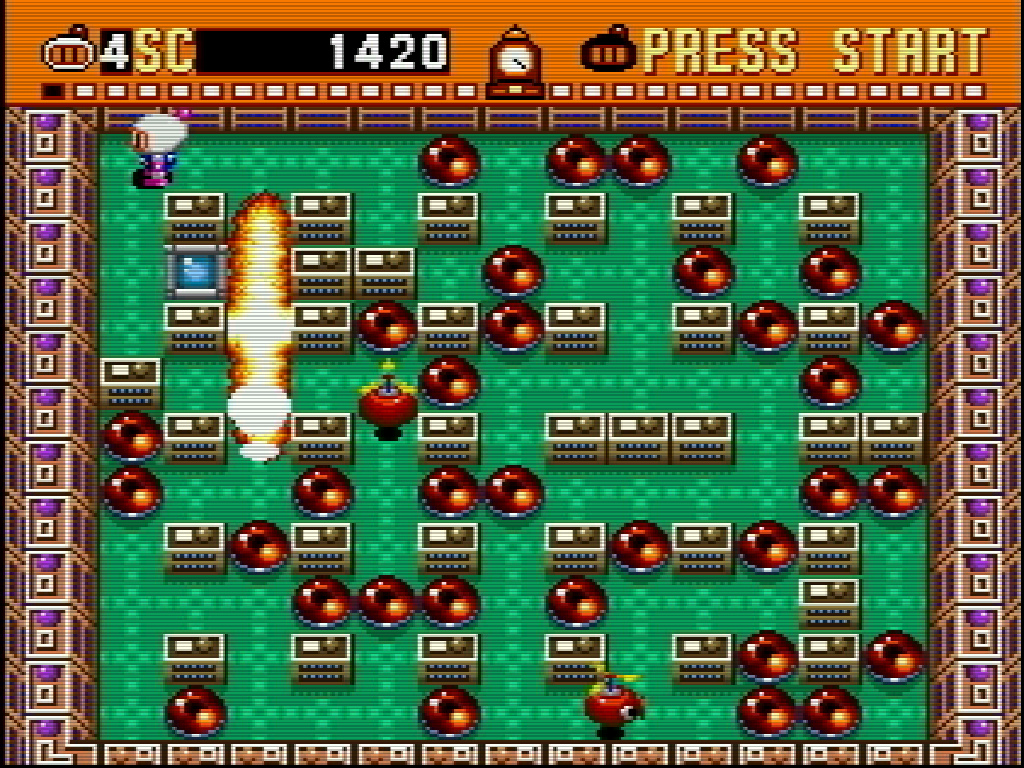 Image result for Super Bomberman sNES