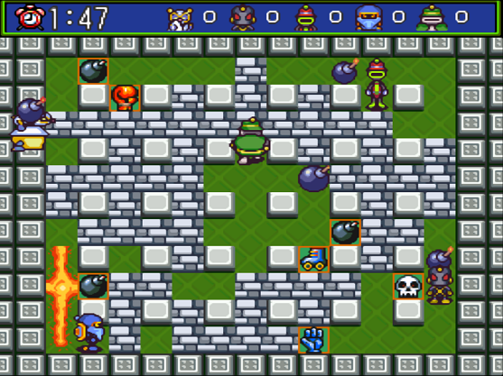 Super Bomberman 5 ROM Download for Super Nintendo (SNES