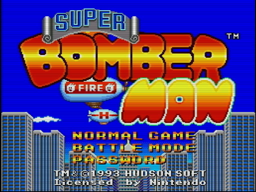 Super Bomberman ROM Download for Super Nintendo (SNES) - Rom Hustler