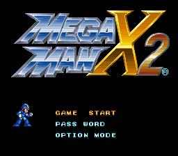 Megaman x2 rom sonicsol. In.
